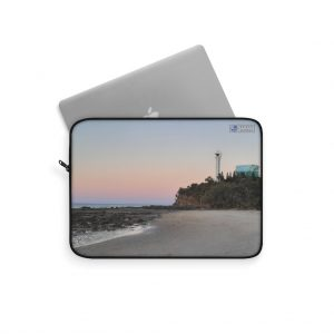 This Point Cartwright Lighthouse Laptop Sleeve is available to buy from Beach Scenes online store.