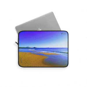 This Blues at Cotton Tree Beach Laptop Sleeve is available to buy from Beach Scenes online store.