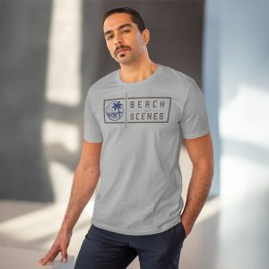 This Organic Creator Mens T-shirt is available to buy from Beach Scenes online store.