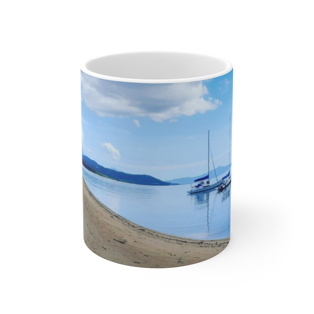 This Cooya Beach Ceramic Mug is available to buy from the Beach Scenes online store!
