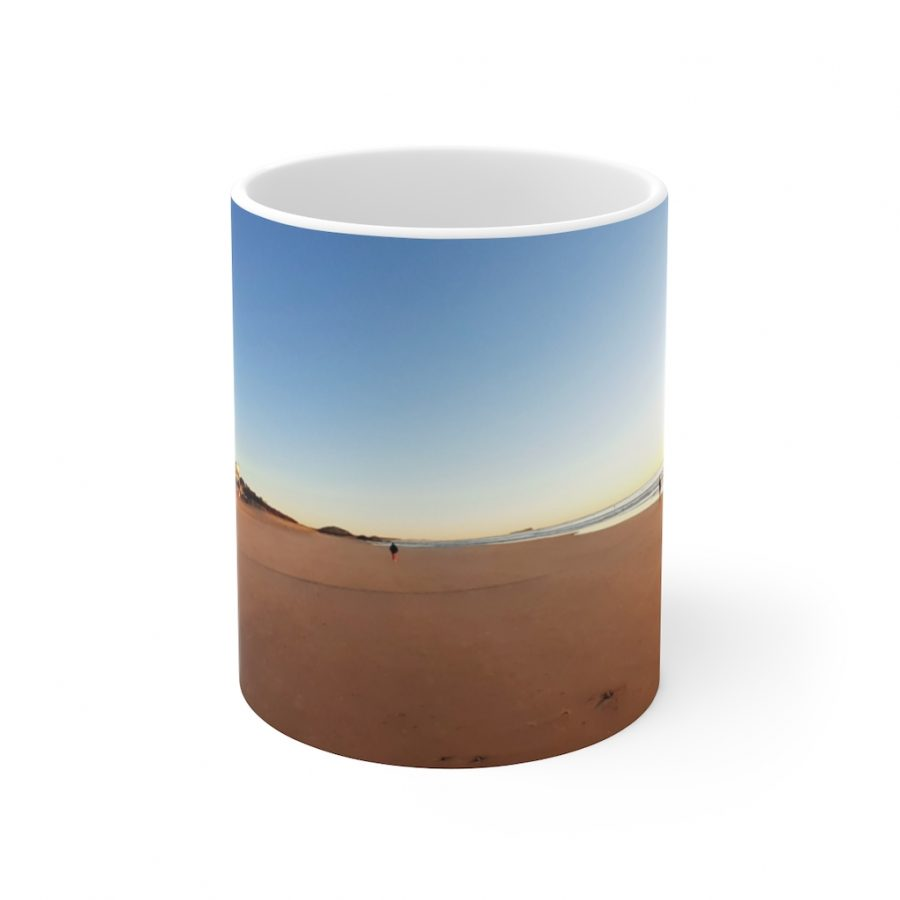 This Golden Sand at Maroochydore Ceramic Mug is available to buy from Beach Scenes online store.