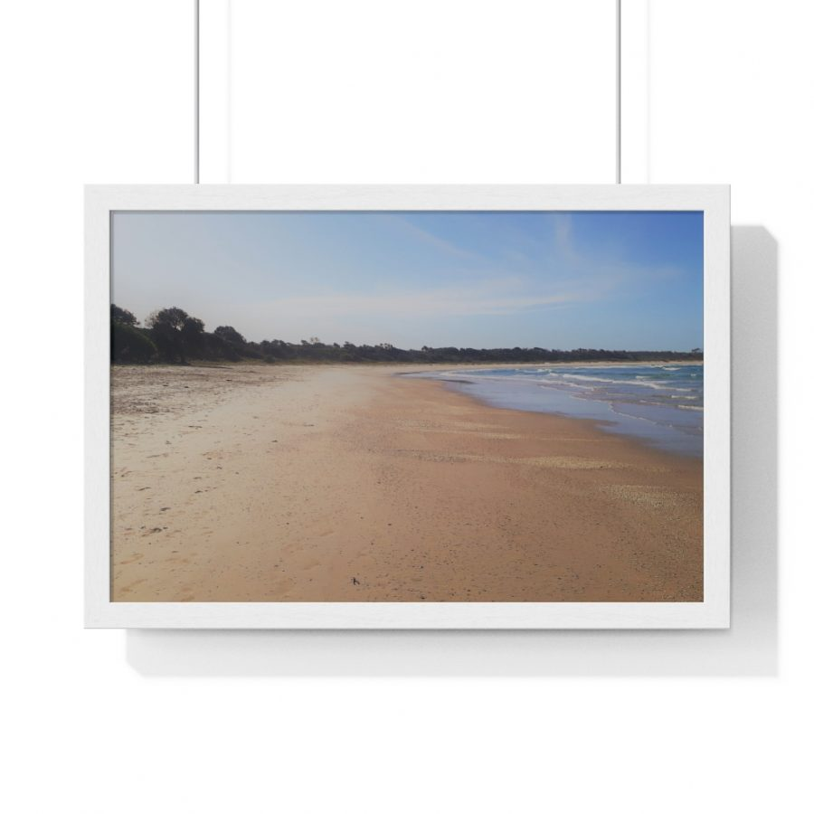 You can buy this Iluka Beach Framed Horizontal Poster from Beach Scenes online store.
