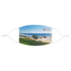 This Mooloolaba Beach View Face Mask is available to buy from the Beach Scenes online store.