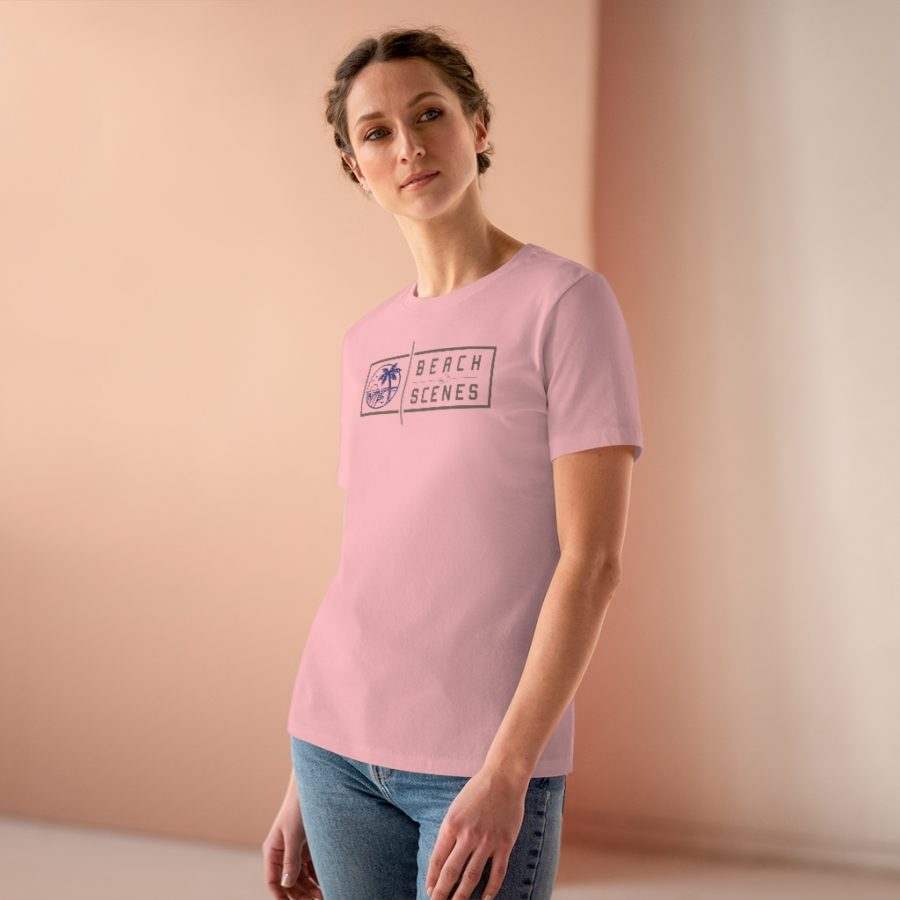 This Premium Beach Scenes Womens Tee is available to buy from Beach Scenes online store.
