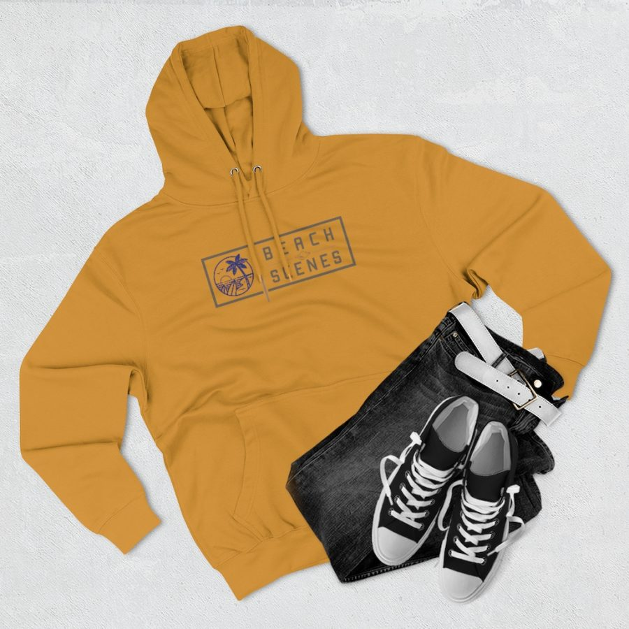This Premium Mens Pullover Hoodie is available to buy from Beach Scenes online store.