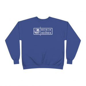 This EcoSmart Crewneck Mens Sweatshirt is available to buy from Beach Scenes online store.
