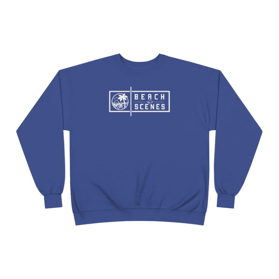 This EcoSmart Crewneck Womens Sweatshirt is available to buy from Beach Scenes online store.