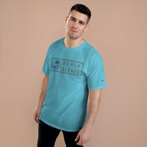 This Champion Beach Scenes Mens TShirt is available to buy from Beach Scenes online store.