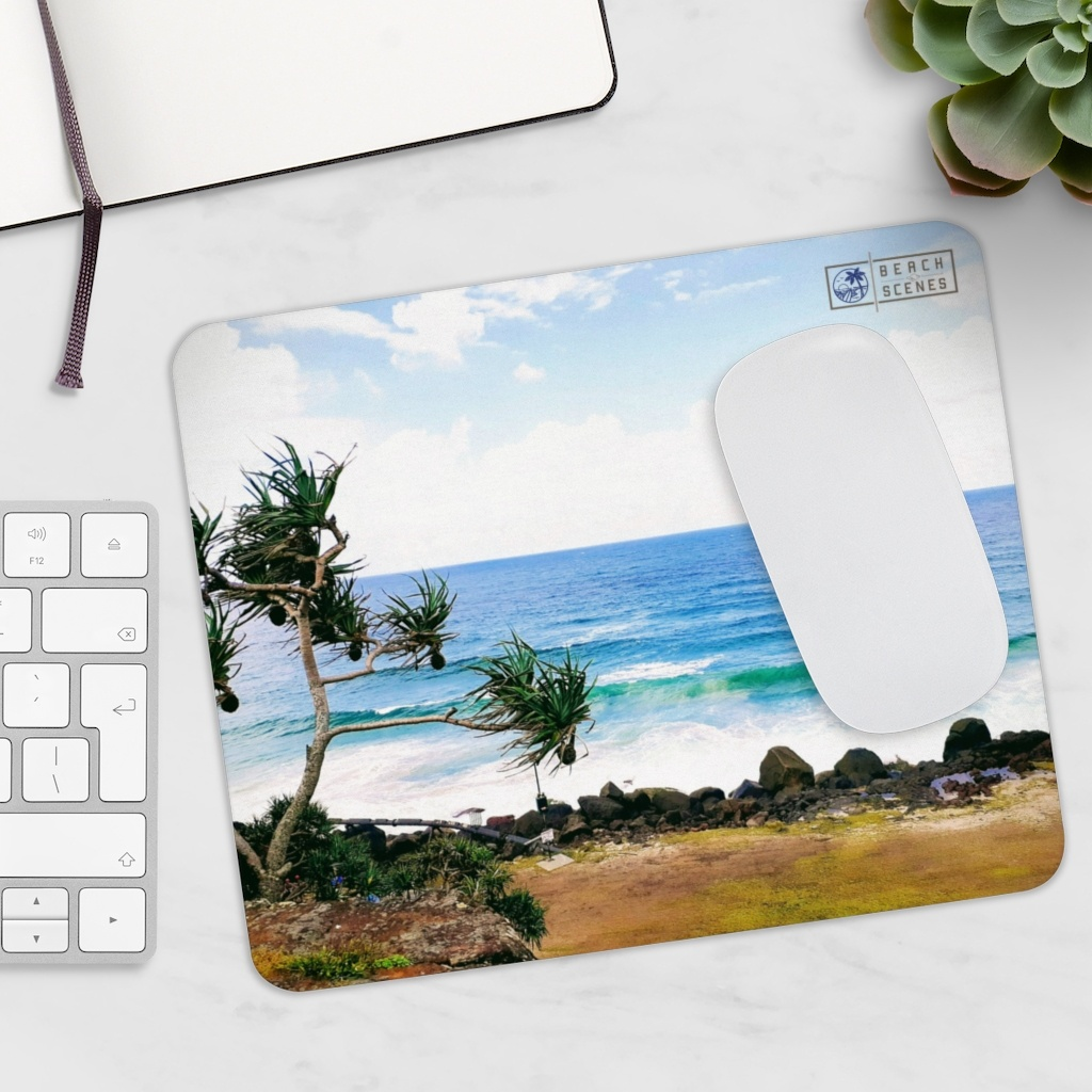 This Crashing Waves at Coolangatta Beach Mousepad is available to buy from the Beach Scenes online store!