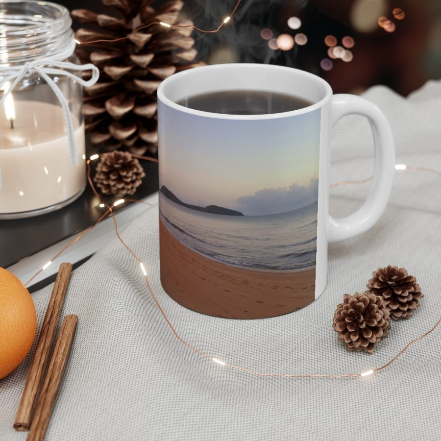 This Palm Cove Beach Ceramic Mug is one of many Beach Scenes Cups you can buy from Beach Scenes online store.