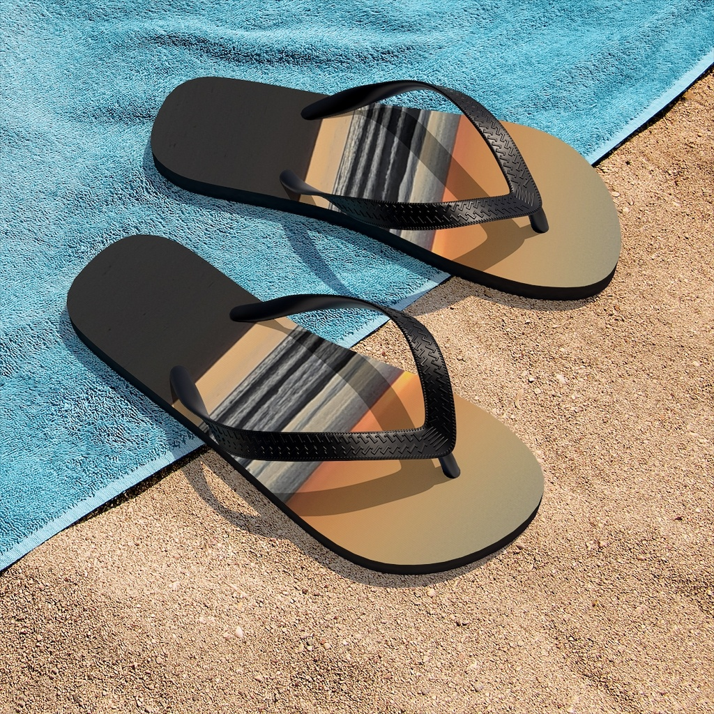 Buy beach themed sandals from Beach Scenes