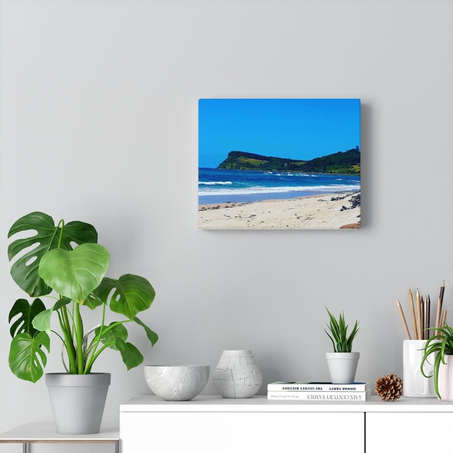 You can buy this Lennox Head Beach Canvas Artwork at Beach Scenes online store.