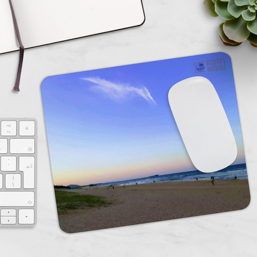 This Pterodactyl Clouds at Dickie Beach Mousepad is available to buy from the Beach Scenes online store!