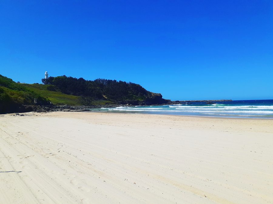 Yamba Main Beach has been labelled the been labelled the new Byron Bay.