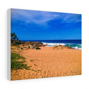 This Chinamans Beach Canvas is one of many beach themed canvas artwork you can buy from Beach Scenes online store.
