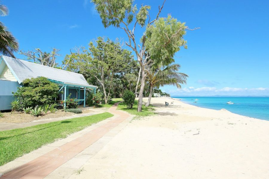 Beach front cabin 10 at the Great Keppel Island Hideaway