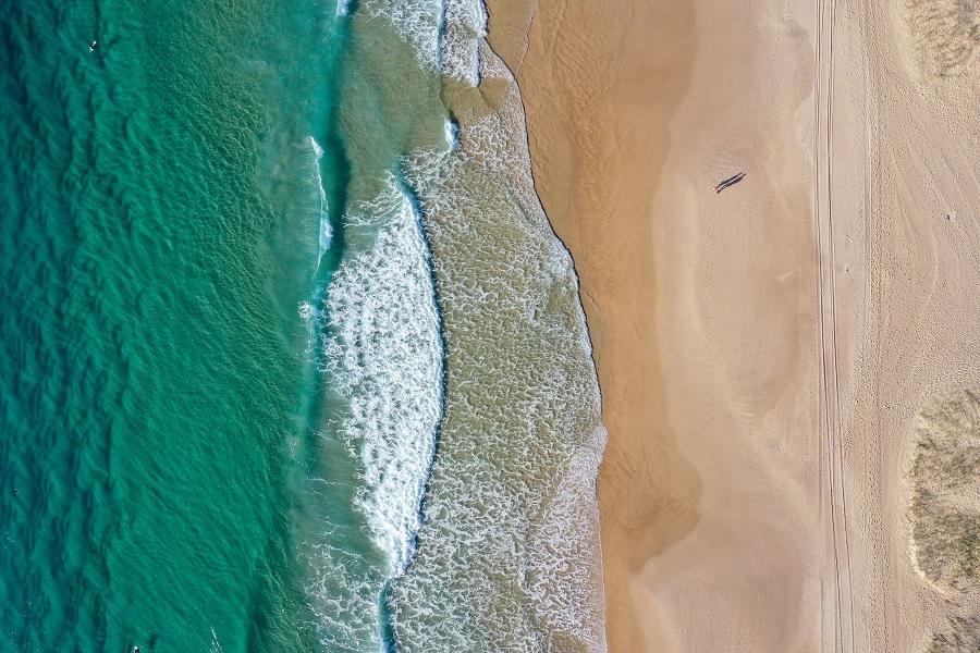 Mermaid Beach on the Gold Coast in Queensland