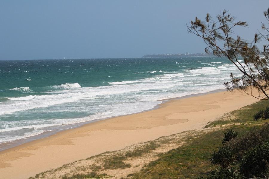 Buddina Beach on the Sunshine Coast in Queensland