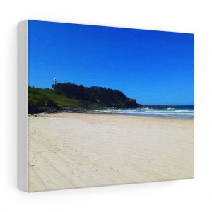 This Yamba Beach Canvas is one of many beach themed canvas artworks you can buy from Beach Scenes online store.