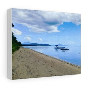 This Cooya Beach Canvas wall artwork is available to buy from Beach Scenes online store.