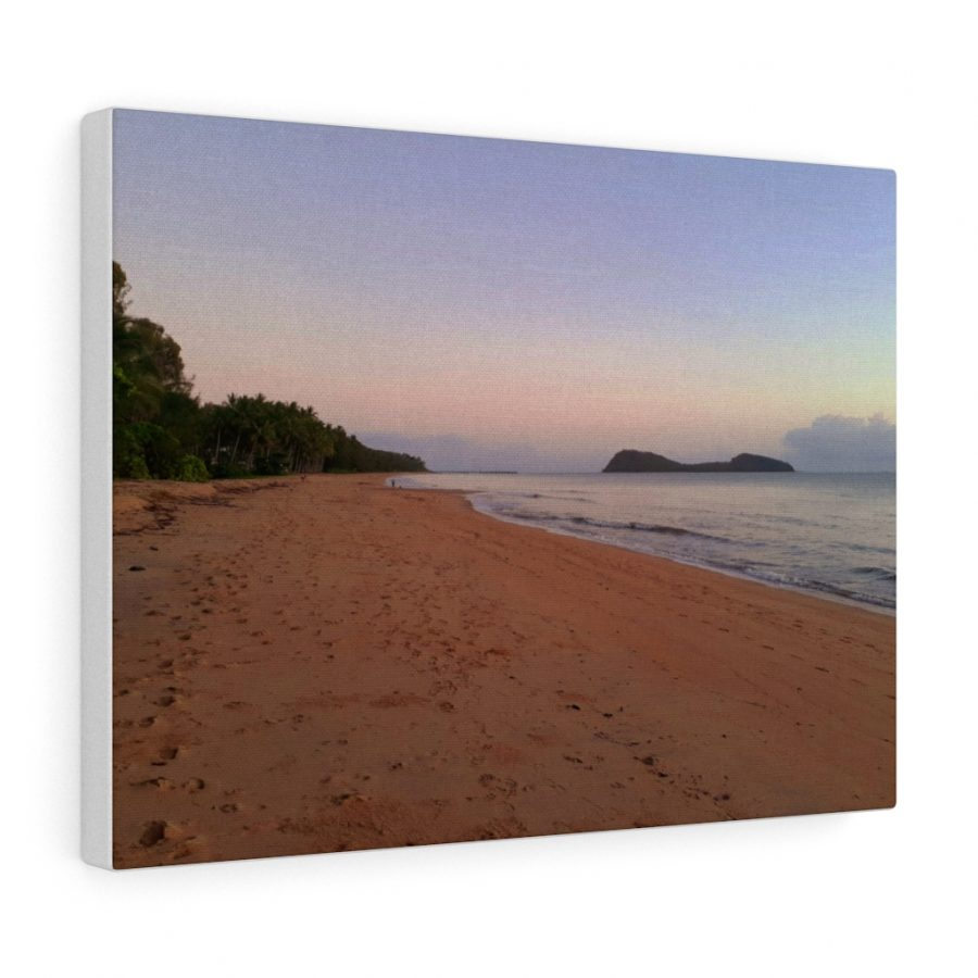 This Palm Cove Beach Canvas wall artwork is available to buy from Beach Scenes online store.