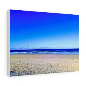 This Deep Blue Sky Beach Canvas is available to buy from Beach Scenes online store.