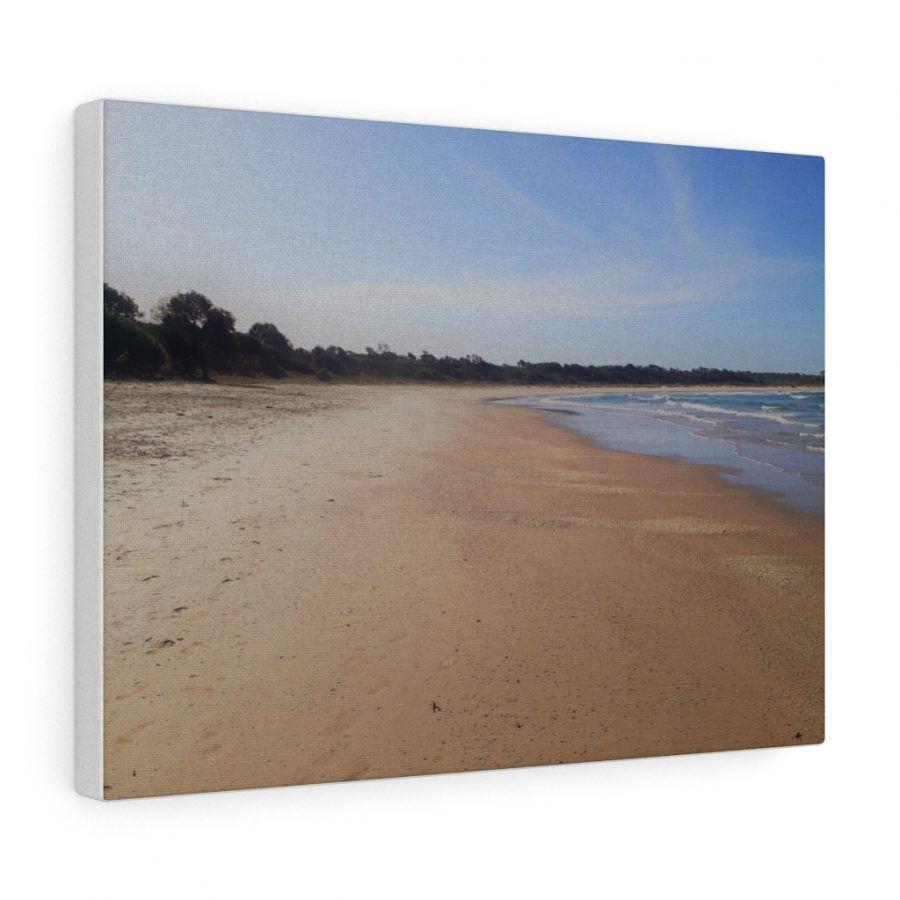 This Iluka Beach Canvas is one of many beach themed wall art pieces you can buy from the Beach Scenes online store.