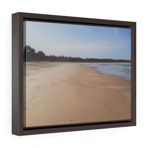 This Iluka Beach Framed Canvas is available to buy from Beach Scenes online store.