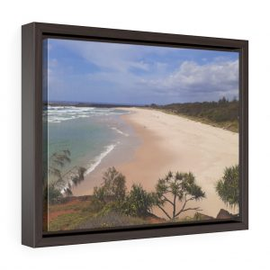 This Ballina Beach Framed Canvas is available to buy from Beach Scenes online store.