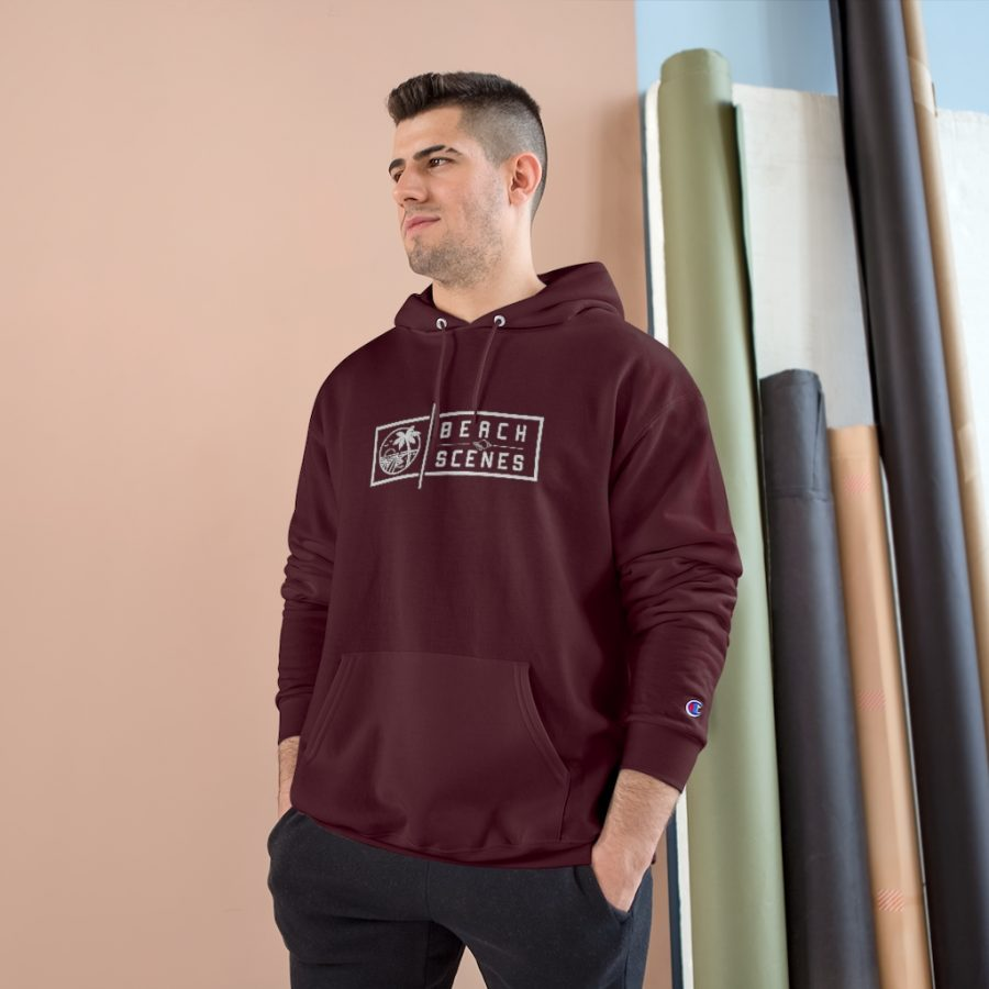 This Champion Beach Scenes Mens Hoodie is available to buy from Beach Scenes online store.
