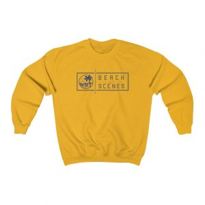 This Heavy Blend Crewneck Mens Sweatshirt is available to buy from Beach Scenes online store.
