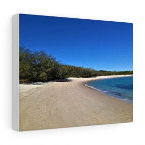 You can buy this Putney Beach on Great Keppel Canvas at Beach Scenes online store.