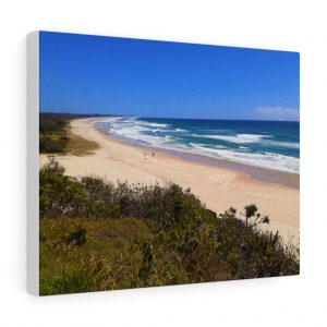 You can buy this Rainbow Beach Canvas at Beach Scenes online store.