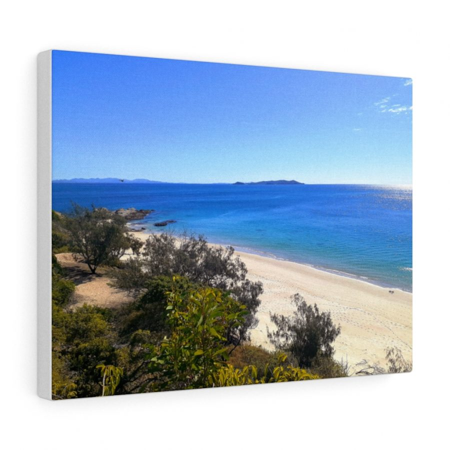 You can buy this Great Keppel Island Beach Canvas at Beach Scenes online store.