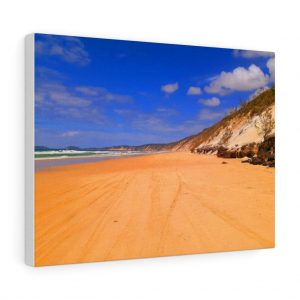 You can buy this Rainbow Beach Sand Dunes Canvas at Beach Scenes online store.