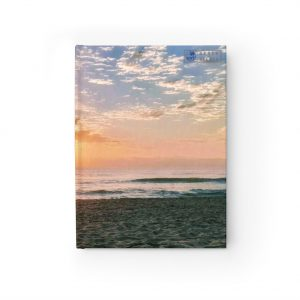 This Maroochydore Beach Sunrise Journal is available to buy from Beach Scenes online store.