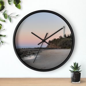 This Point Cartwright Lighthouse Wall Clock is available to buy from Beach Scenes online store.