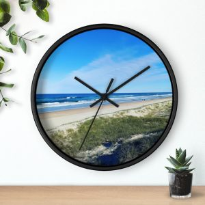 This Ocean View at Kawana Beach Wall Clock is available to buy from Beach Scenes online store.