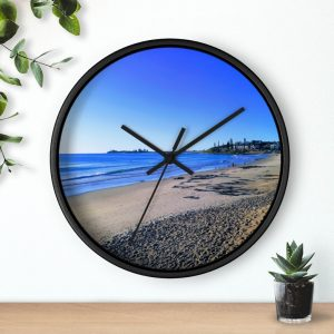 This Blue Ocean Sky at Maroochydore Wall Clock is available to buy from Beach Scenes online store.