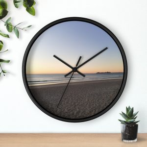 This Morning Colours at Maroochydore Beach Wall Clock is available to buy from Beach Scenes online store.