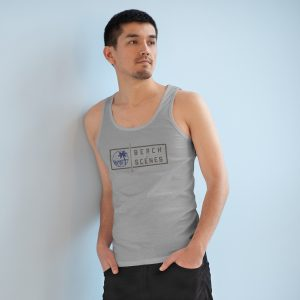 This Specter Beach Scenes Mens Tank Top is available to buy from Beach Scenes online store.